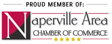 Proud member of the Naperville Area Chamber of Commerce